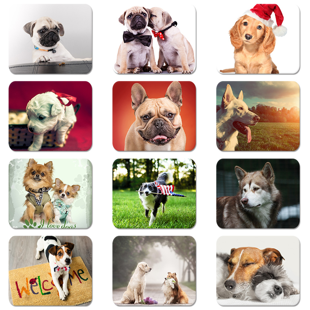 1bb120f722b7 Details about Lovely Pet Dog Puppy Fun Soft Rubber Mouse Pad Mat Laptop  Computer PC MousePad