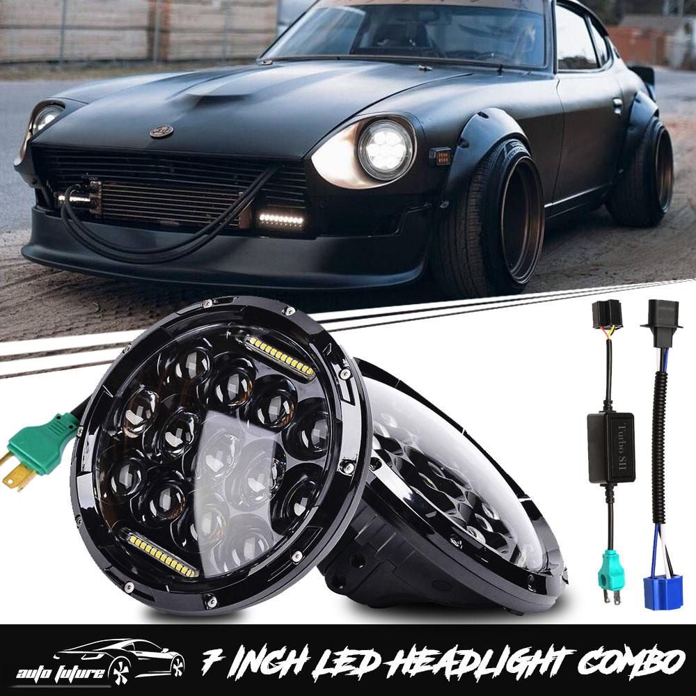 Sealed 7 Inch Led Headlights Fit Datsun 240z 260z 280z