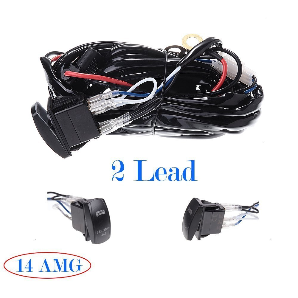 eff46088 e1a8 4708 b8d6 44a88e6369e8 12v 24v roof led light bar wiring harness 40amp relay on off laser  at crackthecode.co