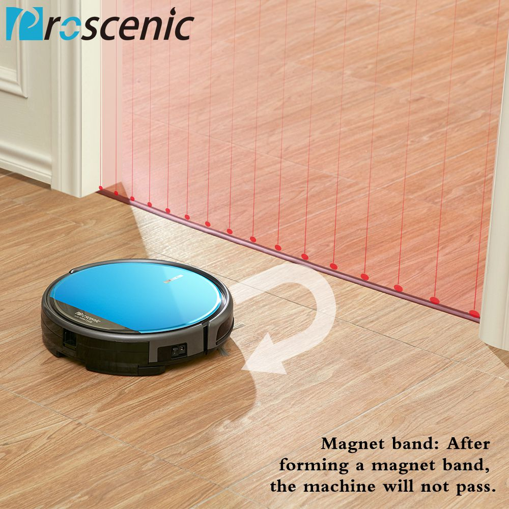 Proscenic 811gb Aleax Robotic Vacuum Silent Floor Washing
