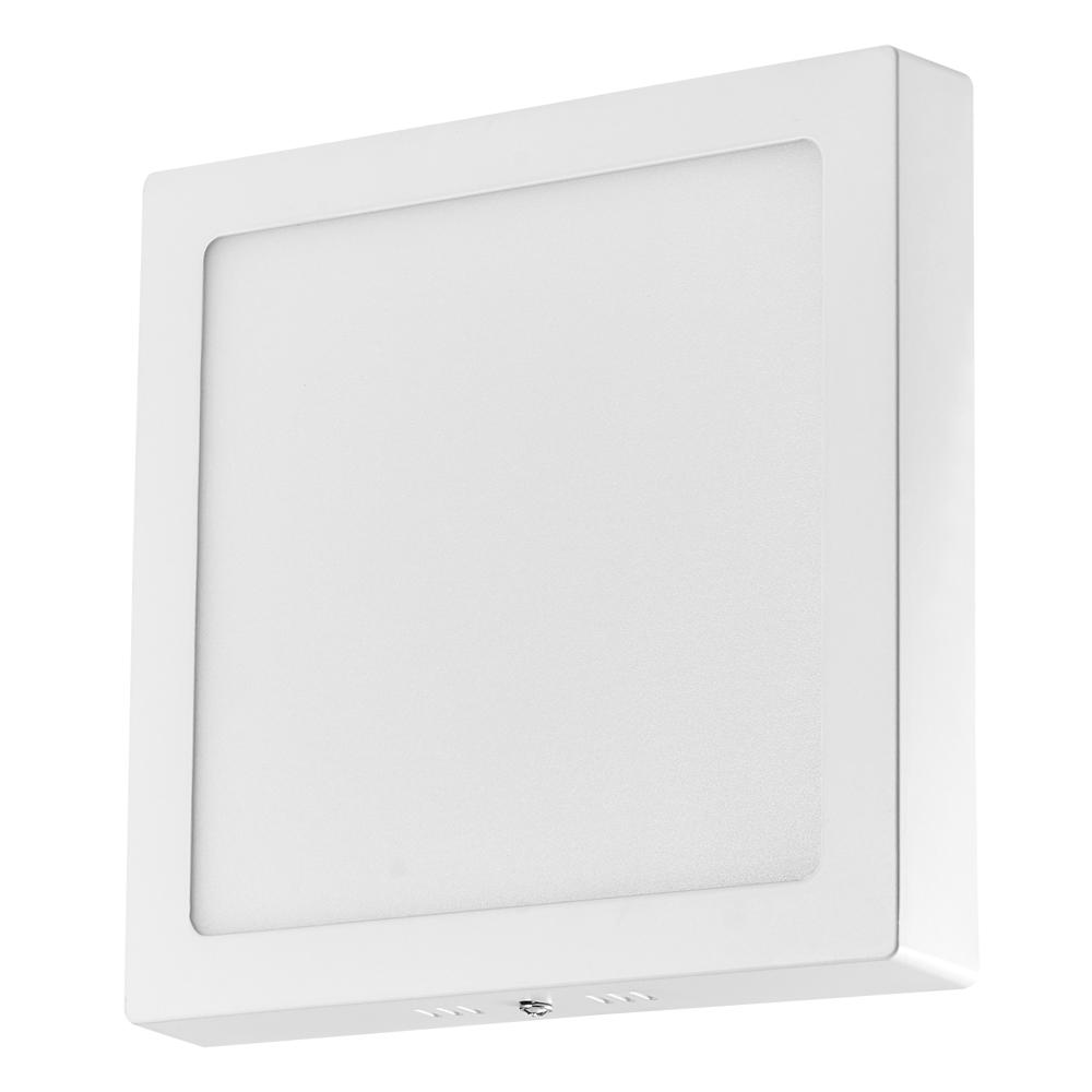 led panel aufputzlampe deckenlampe 6w 12w 18w 24w wandleuchte aufputz aufbau ebay. Black Bedroom Furniture Sets. Home Design Ideas
