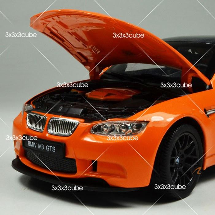 1//24 Orange 1:24 BMW M3 GTS alliage métal moulé sous pression Modèle Voiture De Sport