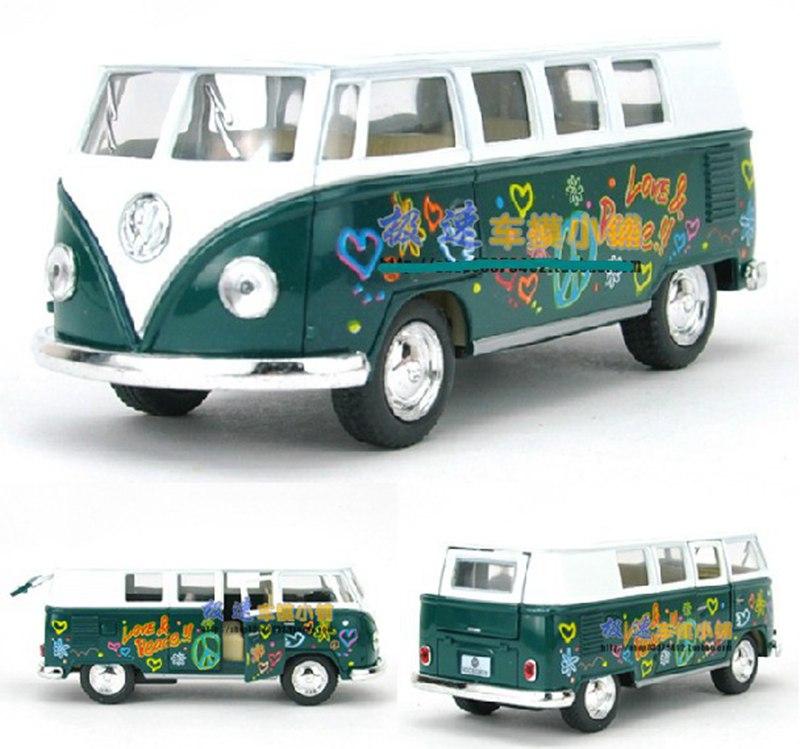 Kinsmart 1:32 1/32 1962 Volkswagen VW Paint Classic Bus