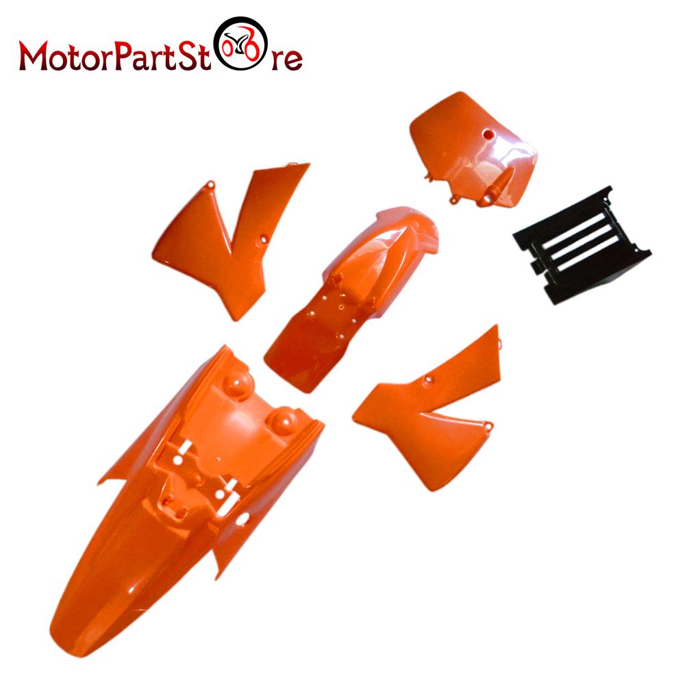 FOR KTM50 KTM SX 50 JUNIOR 50CC SX 2002-2008 FENDER PLASTIC ORANGE M PS42