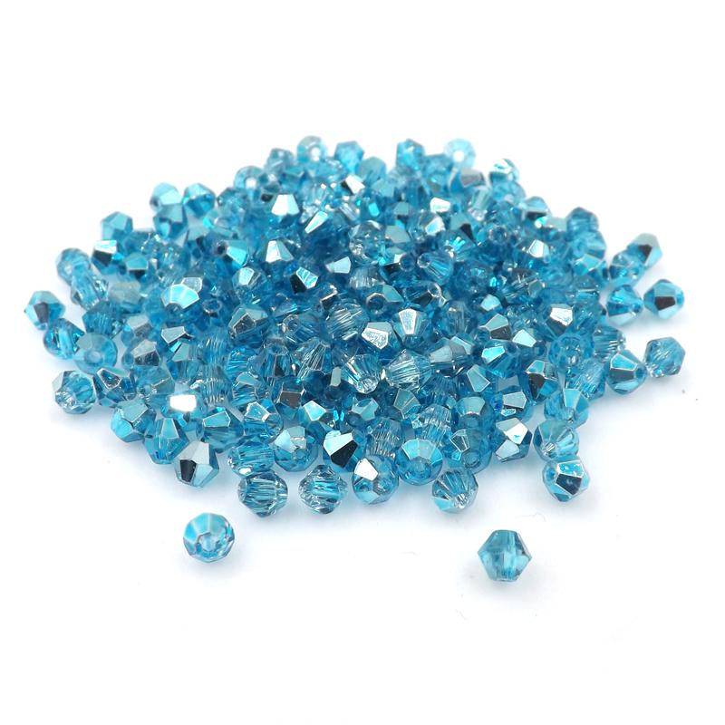New 1000pcs 3//4mm Austria Crystal bicone beads #5301 DIY Making U pick colors
