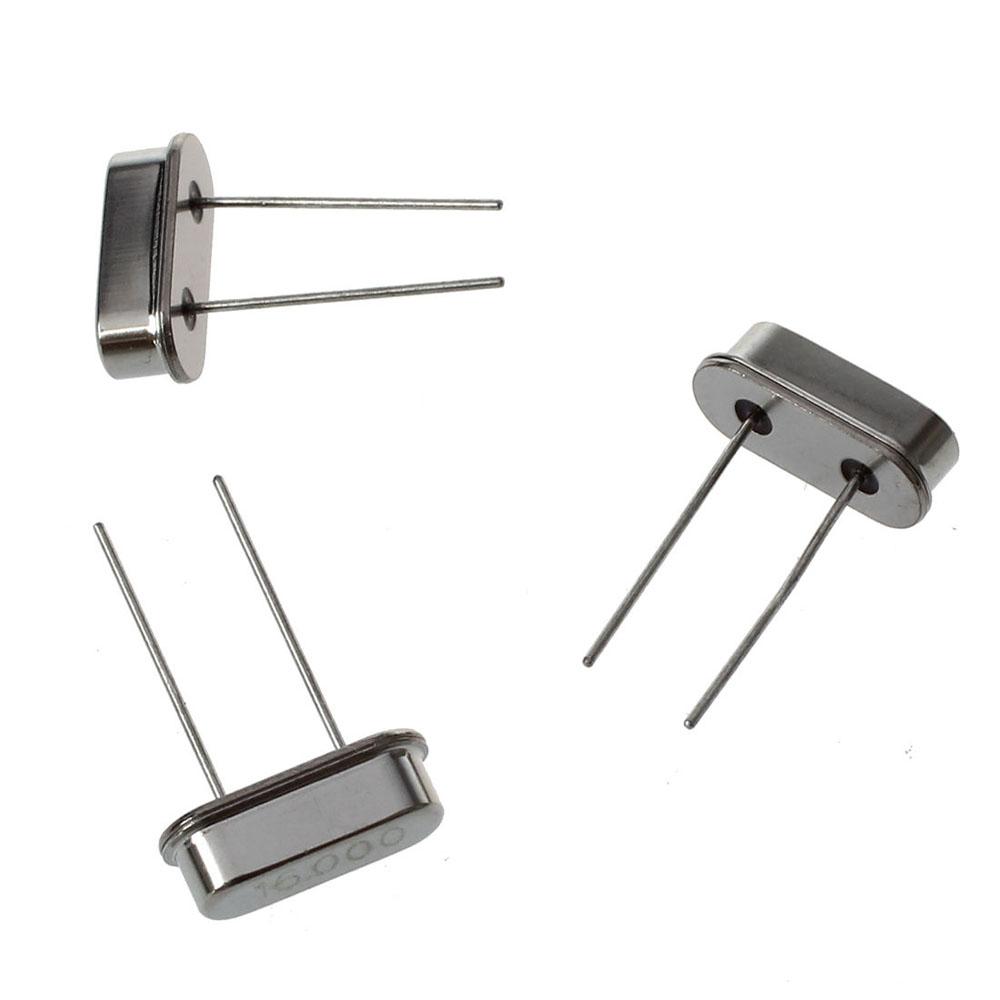 10pcs 16mHz Crystal Oscillators/_LS-49S Quartz Low Profile rc pi arduino ZP