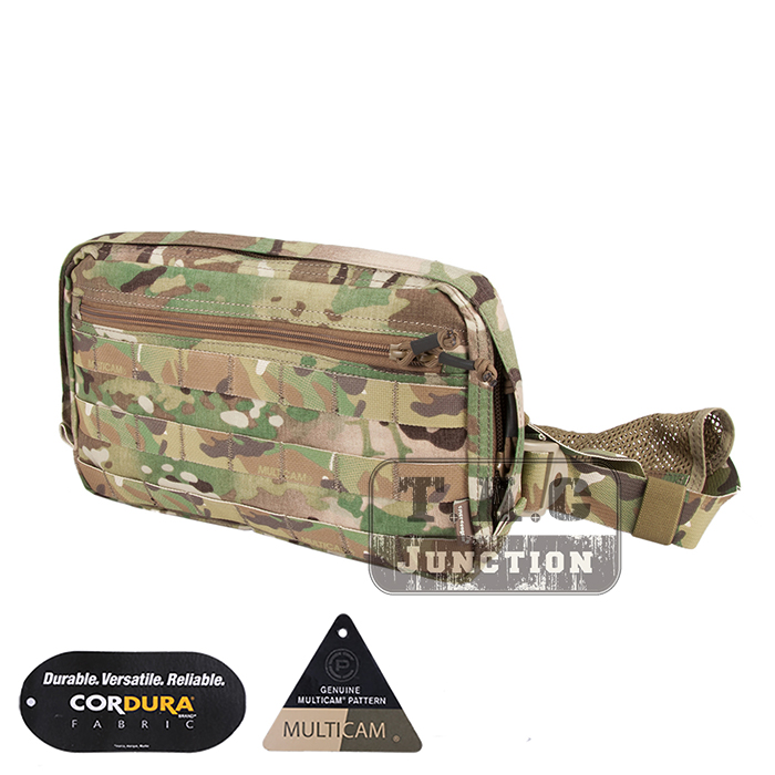 449bb4d9b0ae Details about Camo Concealed Carry Pouch Combat Chest Recon Kit  Multi-Purpose Bag Molle US
