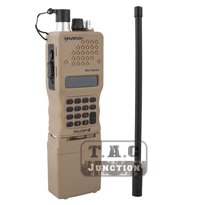 Details about Tactical AN / PRC-152 Falcon III MBITR Dummy Radio Case  Communication Model DE
