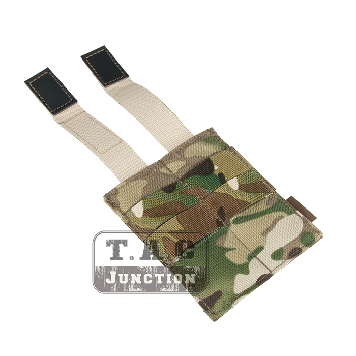Emerson Tactical MOLLE Double Open Top Pistol Magazine Pouch Fast Draw Military