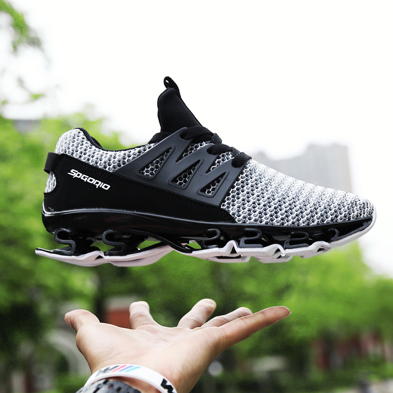 a7c9929077596 Men Spring Big Size Running Shoe Anti-Slip Breathable Light Outdoor Casual  Shoess 232906319791