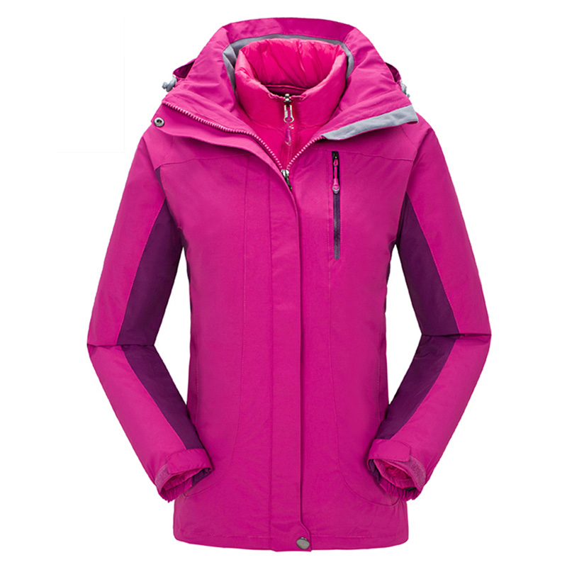 Women-3-in-1-Windproof-Waterproof-Outdoor-Sport-Hiking-Jacket-Cotton-Lined-Coat