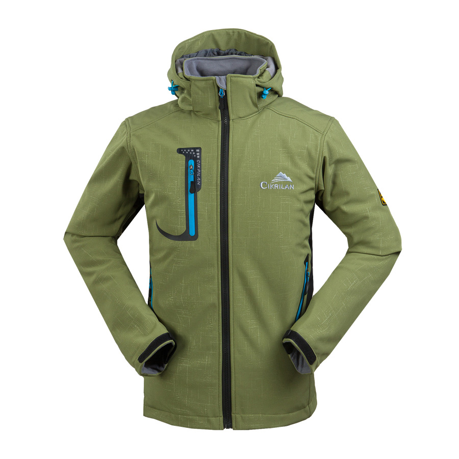 New Mens Soft Shell Waterproof Hooded Softshell Jackets Outdoor ...