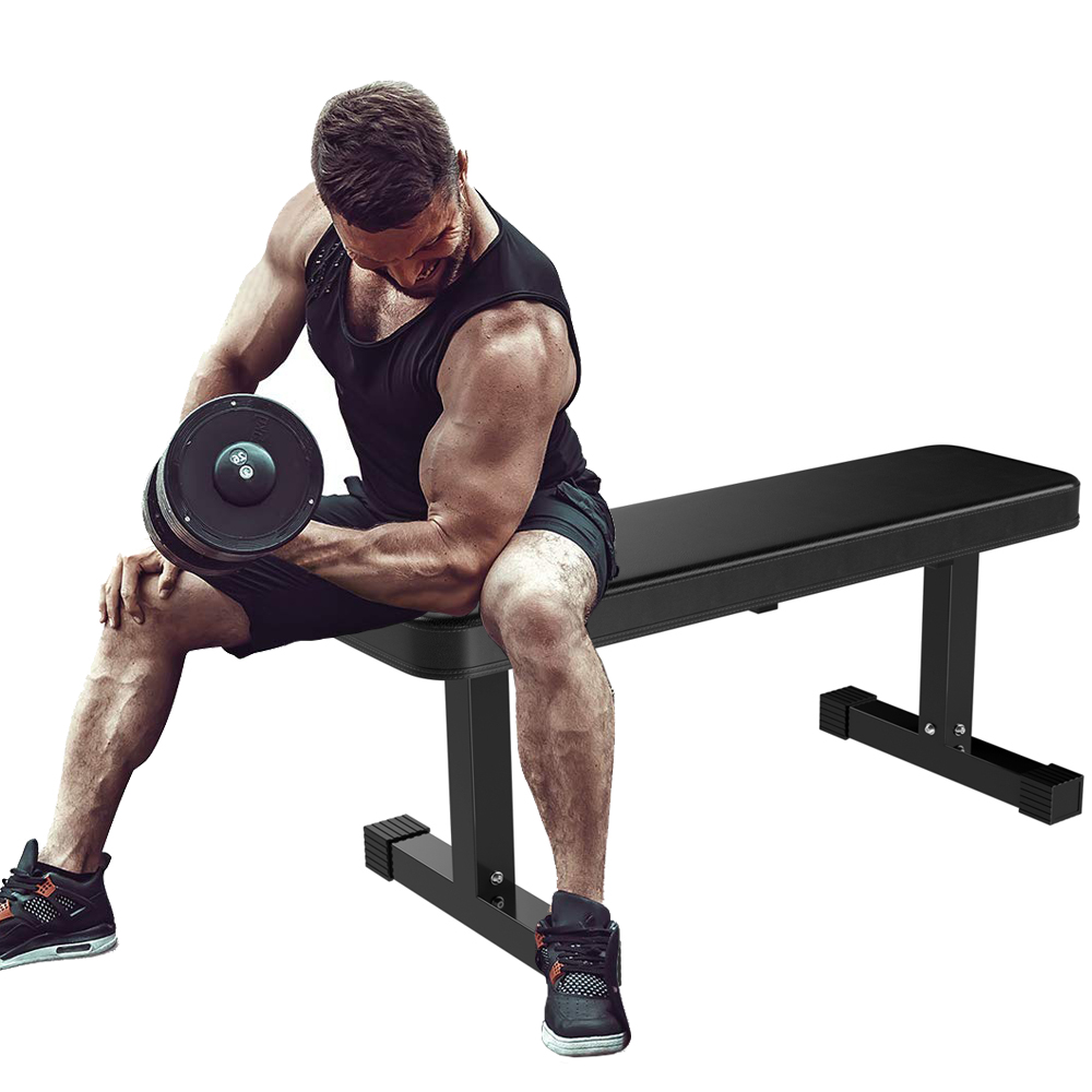 Prime Strength Flat Utility Bench Weight Lifting Gym Workout Camellatalisay Diy Chair Ideas Camellatalisaycom