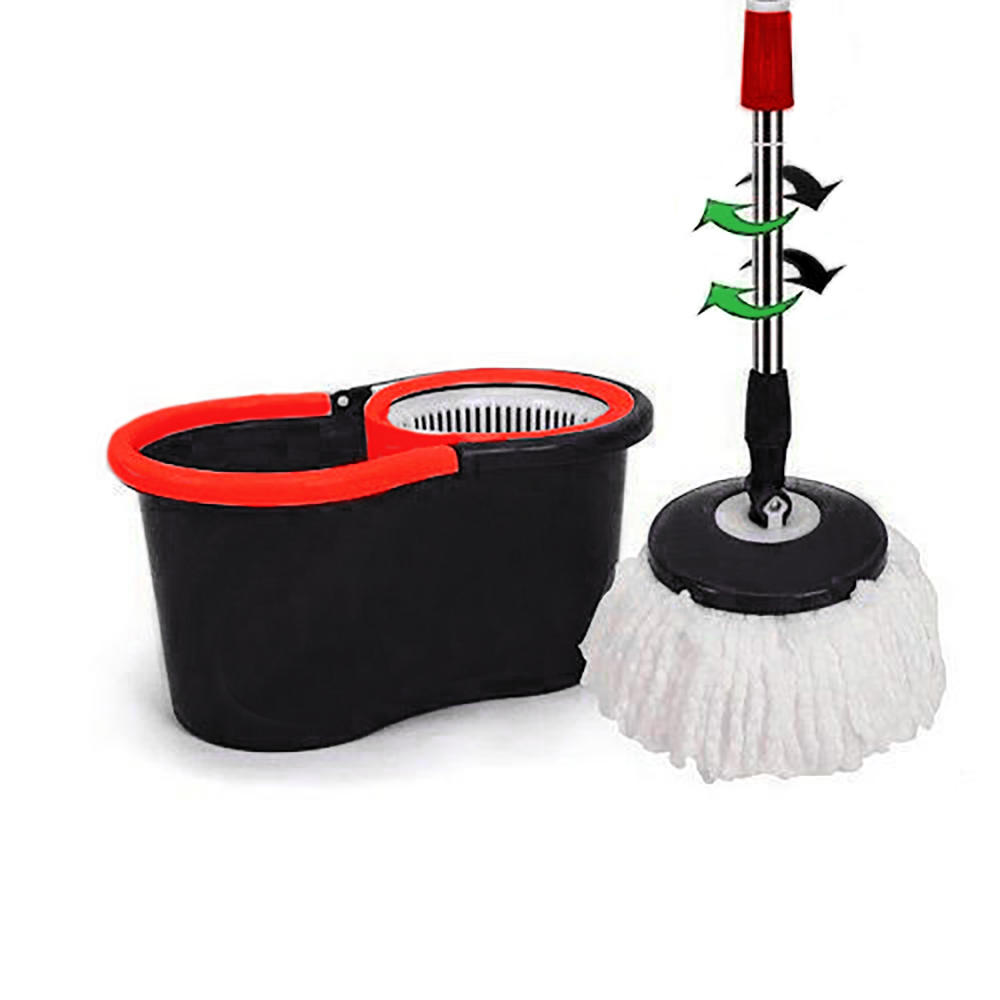 Modern 360 176 Floor Spin Mop Bucket Set Microfiber Rotating