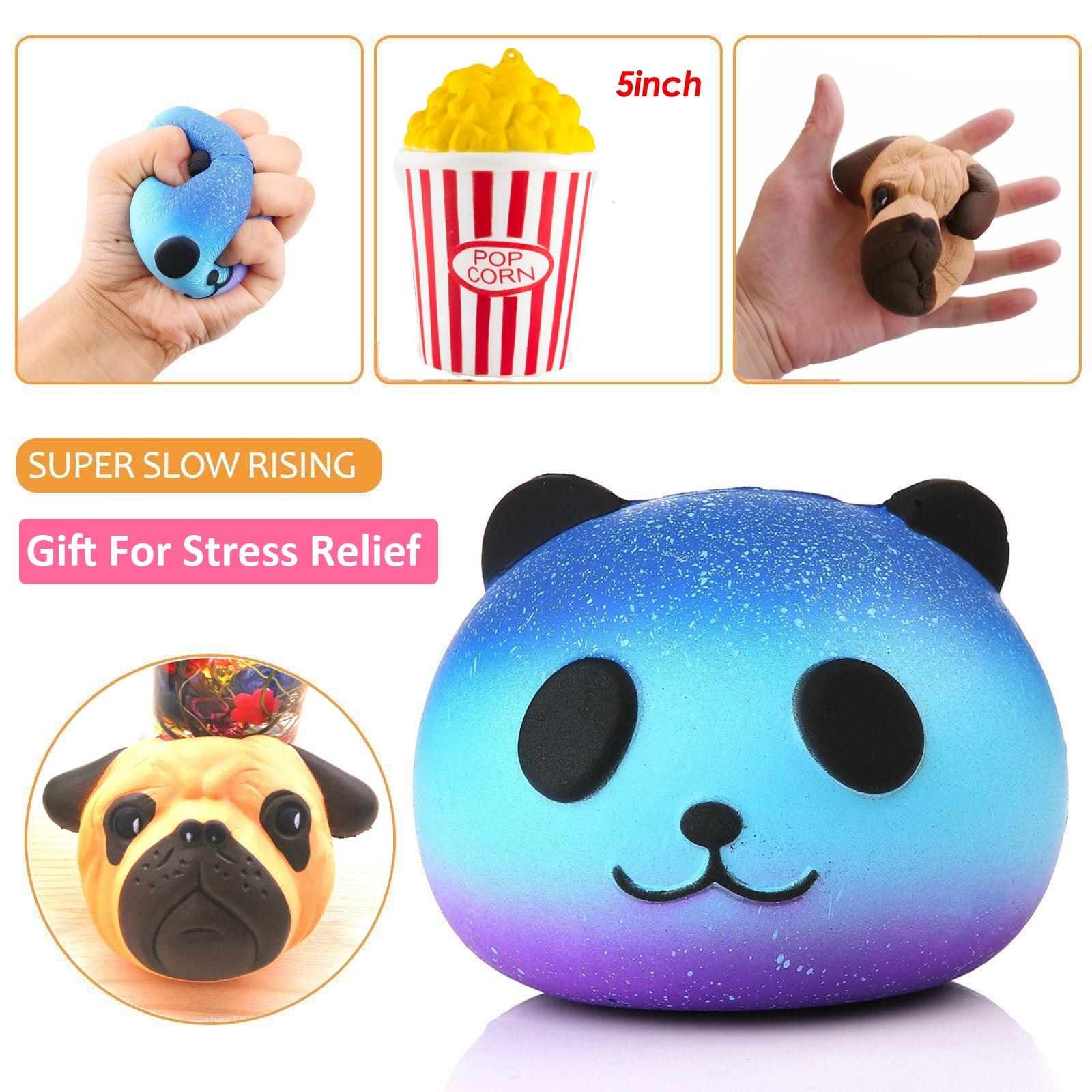 Emotion Squishy Tag : Jumbo Squishy Popcorn Kawaii Creme Duftende Langsam Steigende Kid Spielzeug eBay