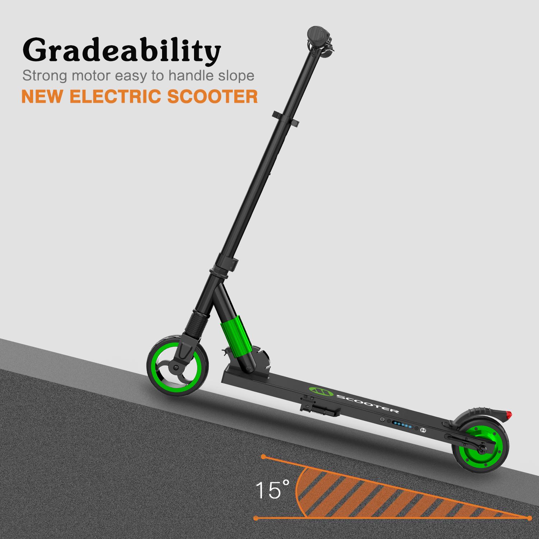 megawheels faltbar elektro roller 250w adult electric scooter city roller gr n ebay. Black Bedroom Furniture Sets. Home Design Ideas