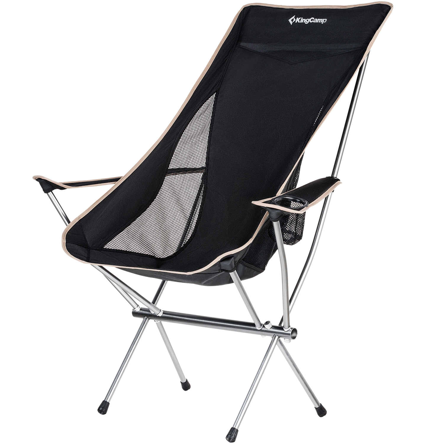 Fine Details About Kingcamp High Back Folding Chair Ultralight Compact Strong Armrest Cup Holder Camellatalisay Diy Chair Ideas Camellatalisaycom