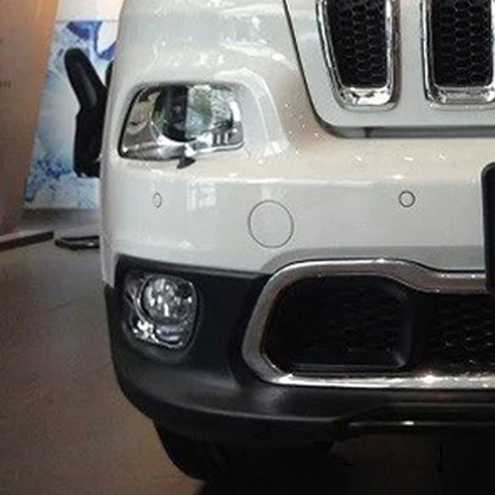 For Jeep Cherokee 2014 2015 2016 ABS Chrome Front Fog