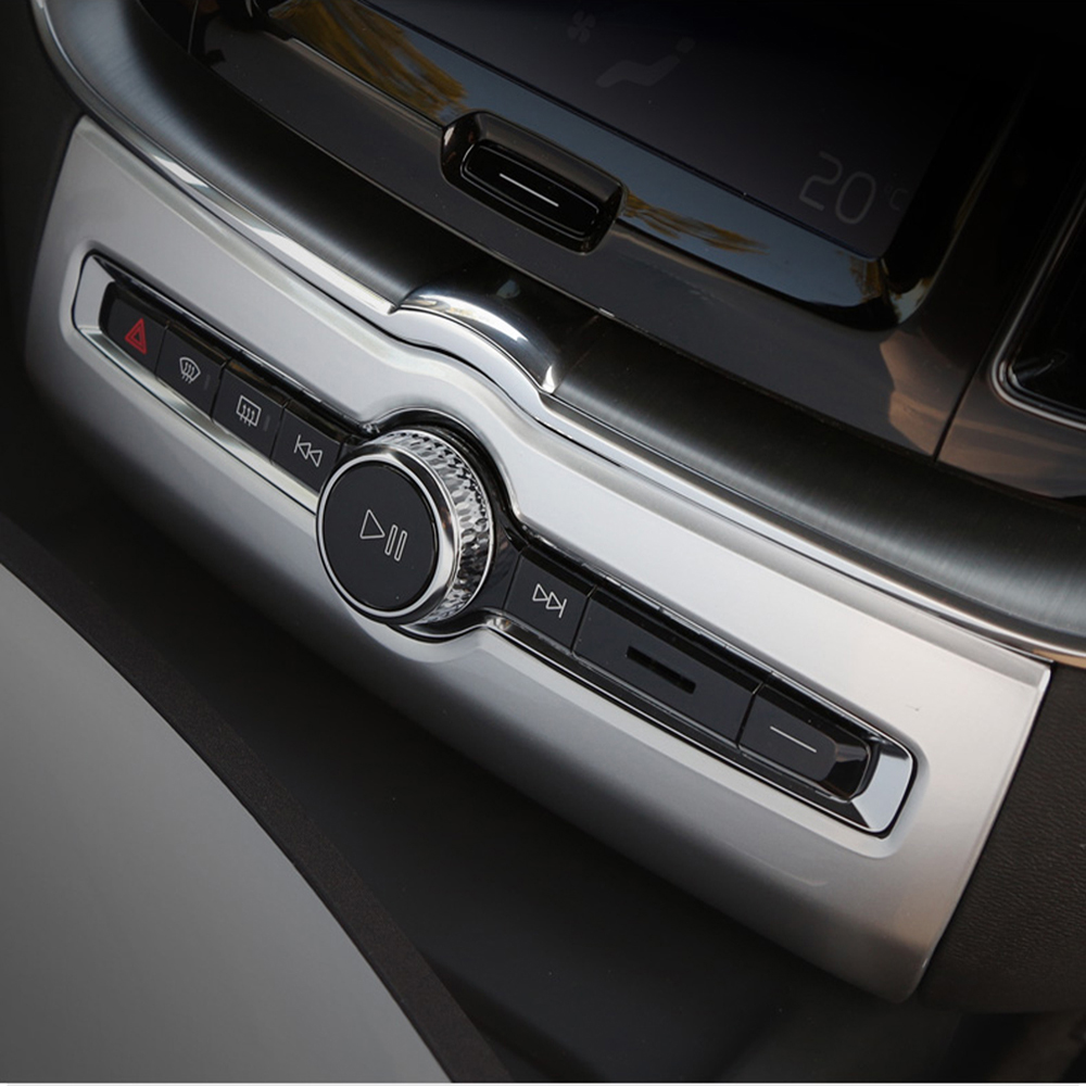 2019 Volvo Xc60: Interior Front Dashboard Air Condition Swtich Cover For