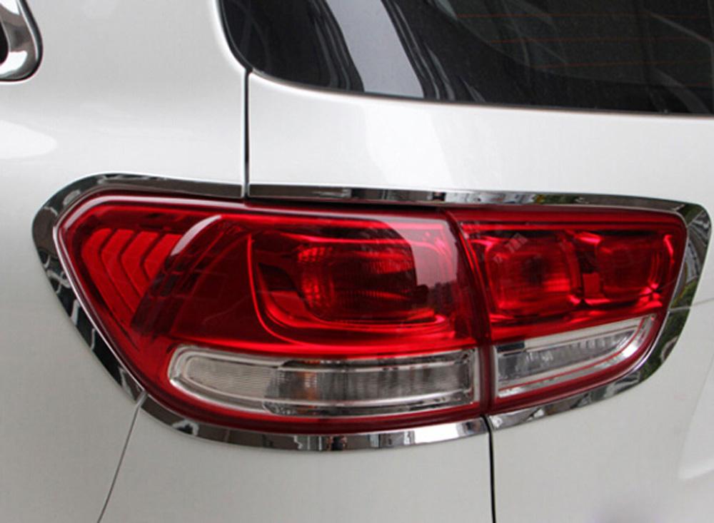 For Kia Sorento L 2016 2017 2018 Chrome Rear Tail Light