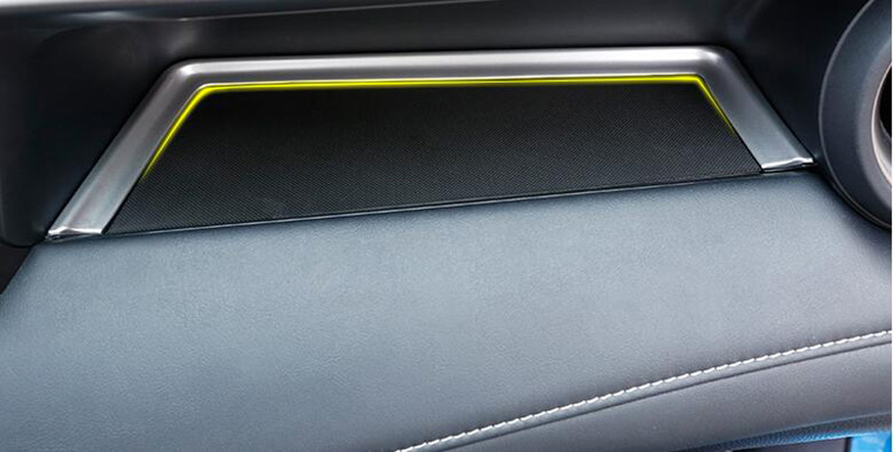 For Toyota RAV4 RAV 4 2016-2018 Inner ABS Matte Storage Box Glovebox Panel Cover
