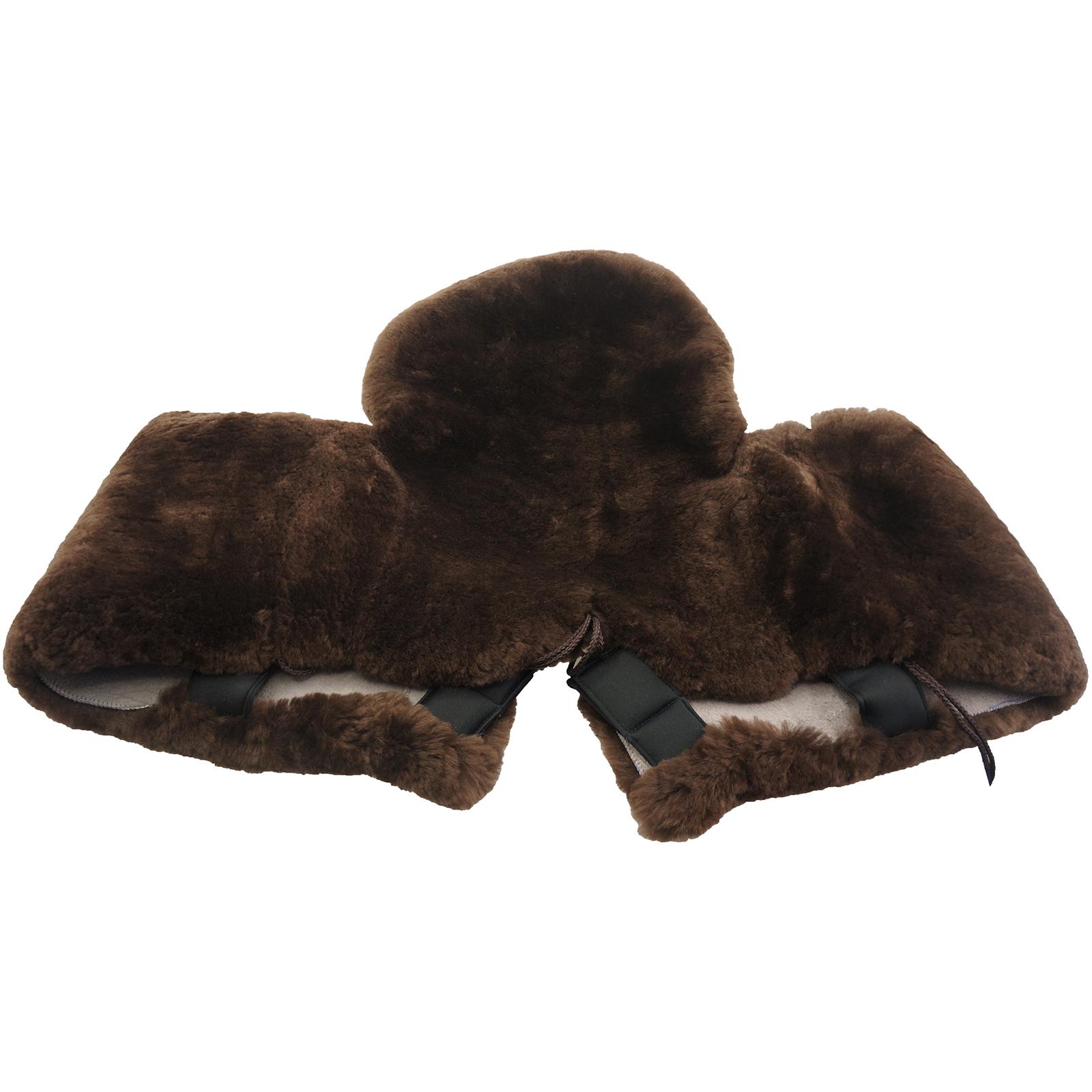 Original Australian Merino Sheepskin Wool Pad Western Horse Saddle Seat Blanket