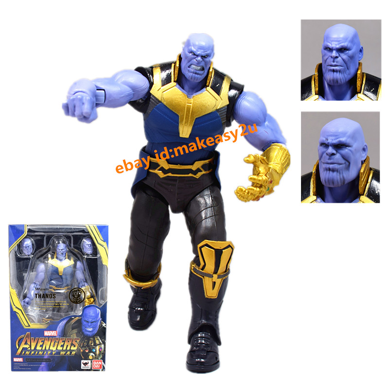 S.H.Figuarts SHF Avengers Infinity War Thanos Action Figure Collection Toys Gift