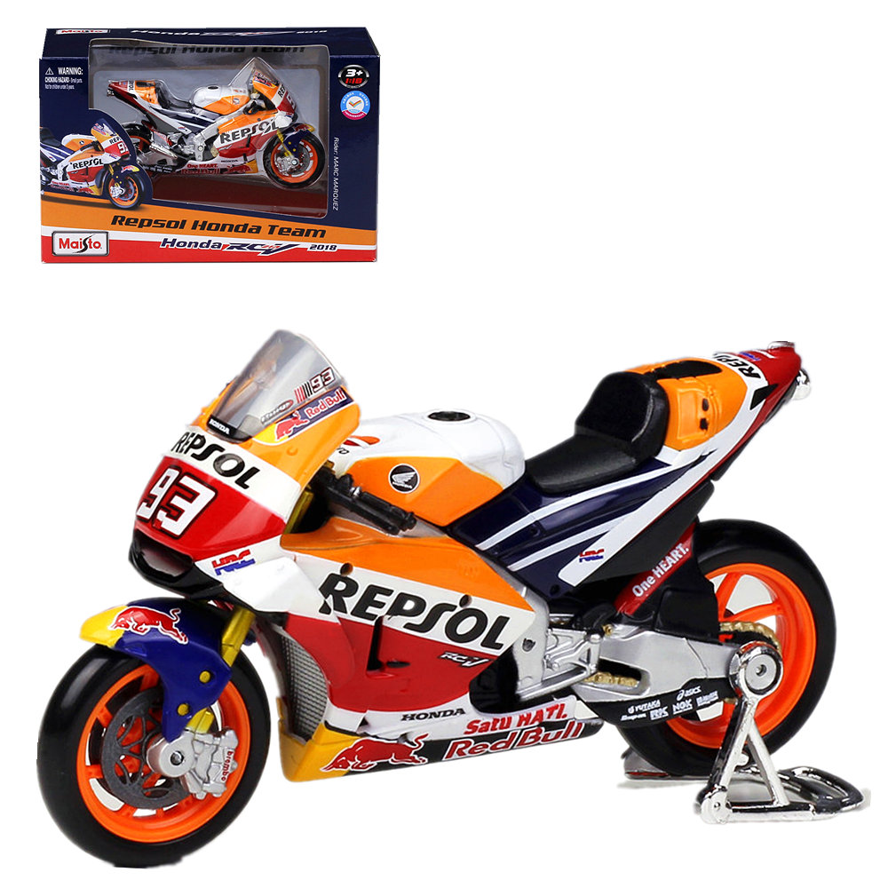 Maisto 1:18 Repsol Honda #93 Marc Márquez #26 Dani PEDROSA