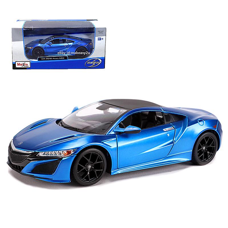 Maisto 1:24 2018 Acura NSX Diecast Metal Model Car Toy