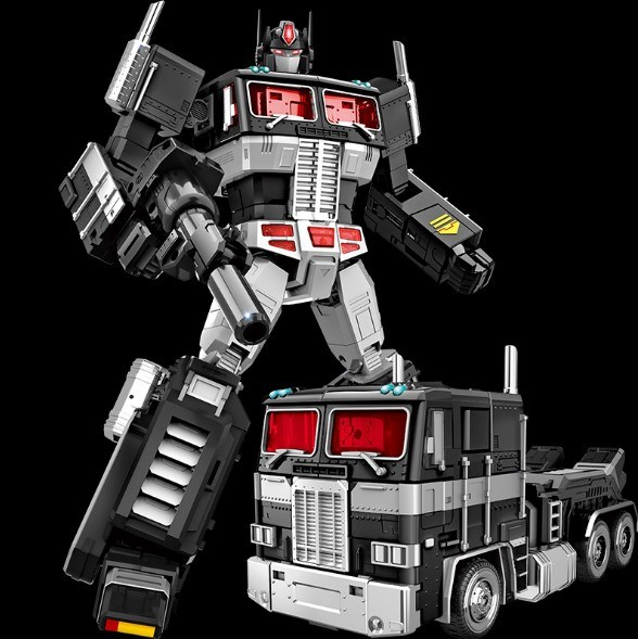 Transformers & Robots Oversized MMP10 G1 Optimus Prime Toy Action Figure New in Box 12 Eyes Light
