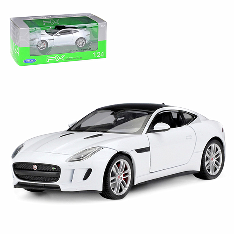 F Type Coupe >> Details About Welly 1 24 Jaguar F Type Coupe Diecast Metal Model Car White