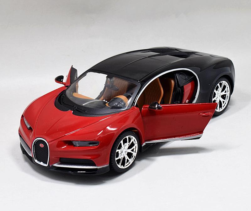 Bburago 1 18 Bugatti Chiron Diecast Metal Model Roadster: Maisto 1:24 Bugatti Chiron Diecast Metal Model Roadster