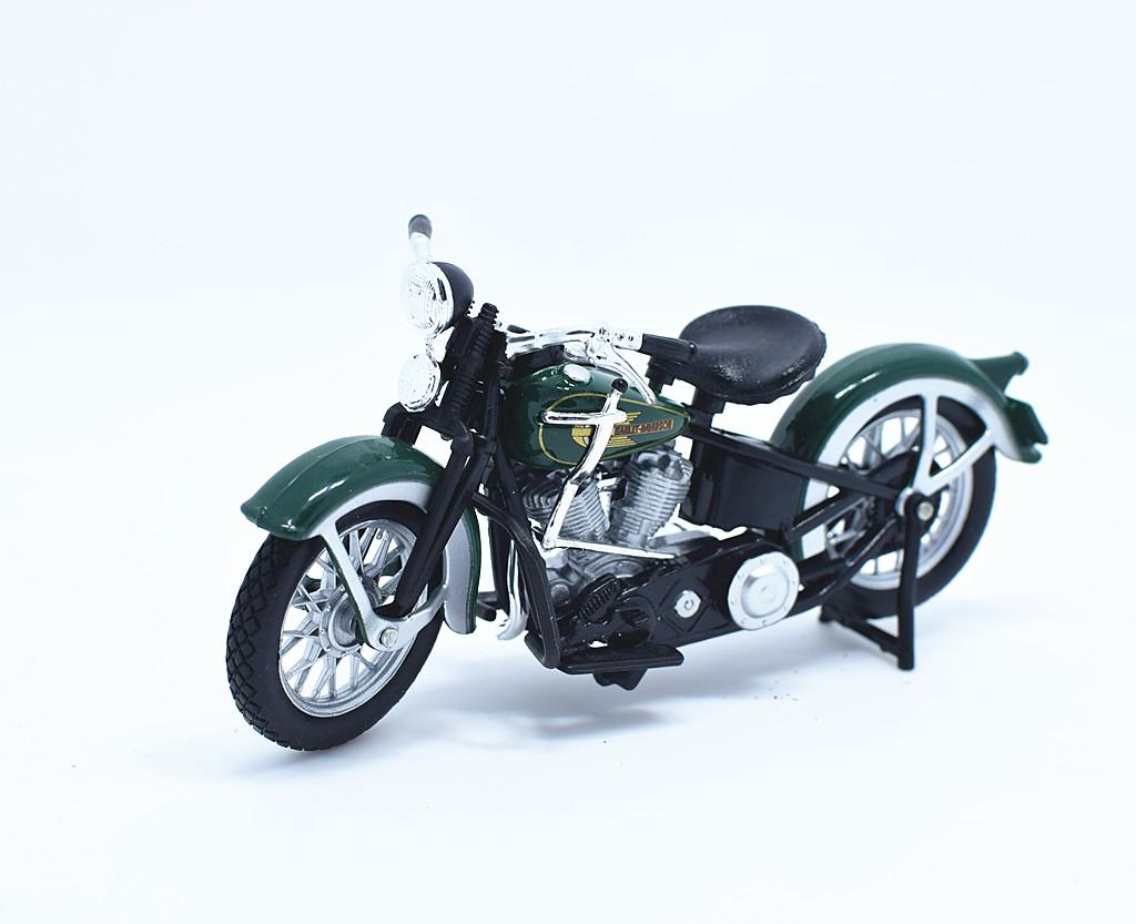 Harley Davidson EL Knucklehead /(1936/) Diecast Model Motorbike /(1 ...