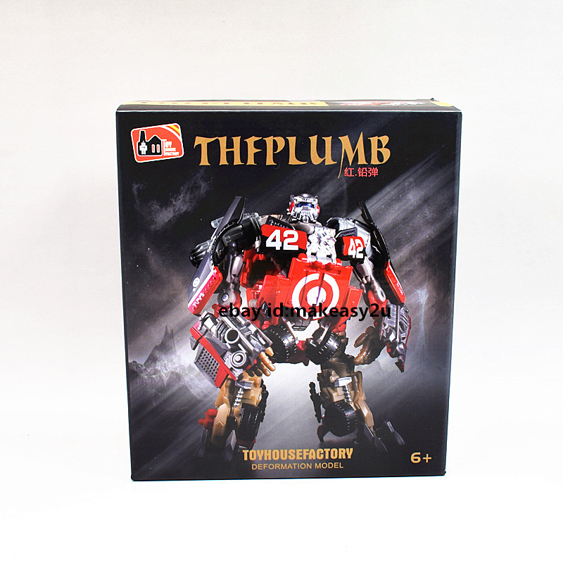 """THF Dark of The Moon Deluxe Class Leadfoot Action Figure Toy New in Box 5/"""""""