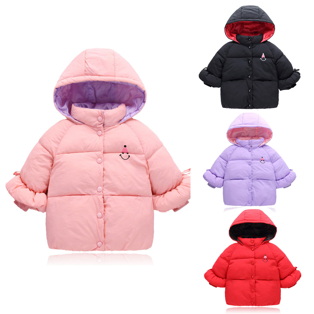 2c1be41cb1a22 Details about U Winter Outerwear Down Jacket Hooded Warm Light Coat Baby Girl  Boy For 1-8 Year