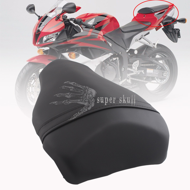 Black Leather Rear Passenger Seat Pillion For DUCATI 1098 1198 848 All years