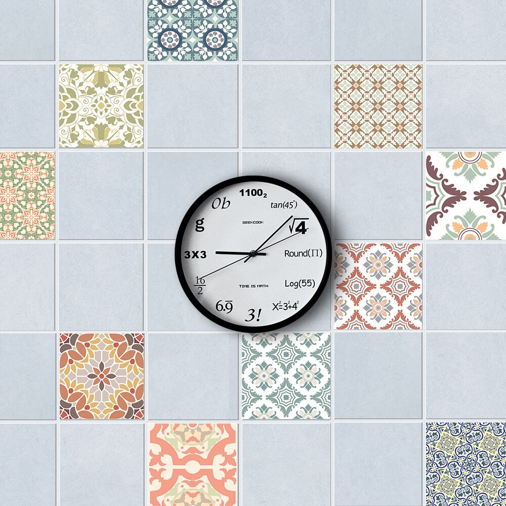 Bathroom Waterproof Tile Wall Sticker Decal Home Kitchen Decoration ...