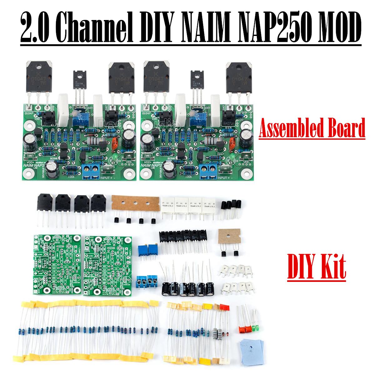 Douk Audio Naim Nap250 Mod 20 Channel Power Amplifier Diy Kit Amp Kits 2 Subwoofer Circuit Board For Stereo Mx50 Se Assembled
