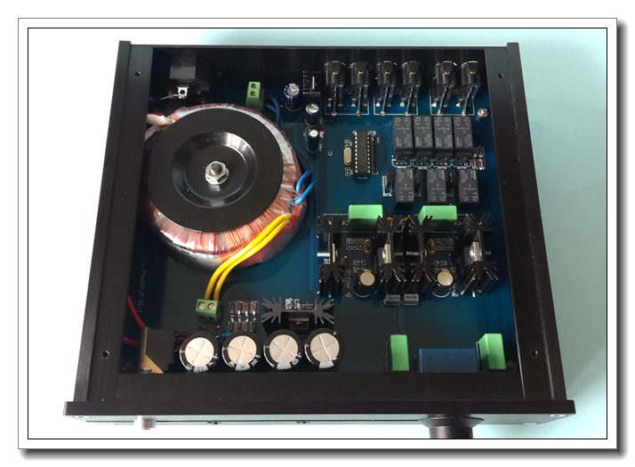 Hi Fi Preamp Audio Pre Amplifier Mosfet 60v Power