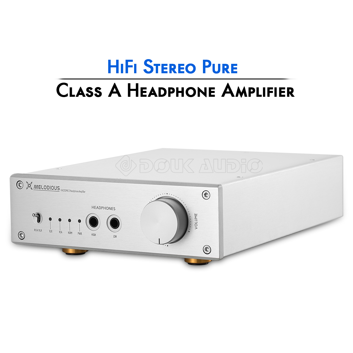 Details about Pure Class A Headphone Amplifier HiFi Stereo Home Audio Amp  Ref Lake People V281