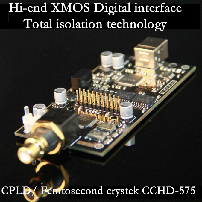 Details about XMOS USB Audio Digital interface i2s XU208 module DSD256 DOP  crystek CCHD-575