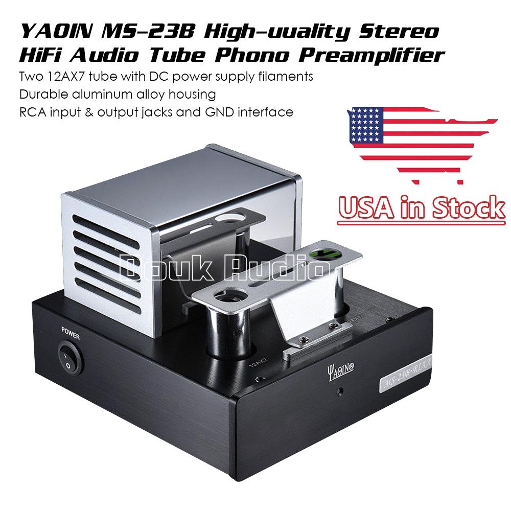 Yaqin Ms 23b Tube Phono Stage Pre Amplifier Mm Riaa