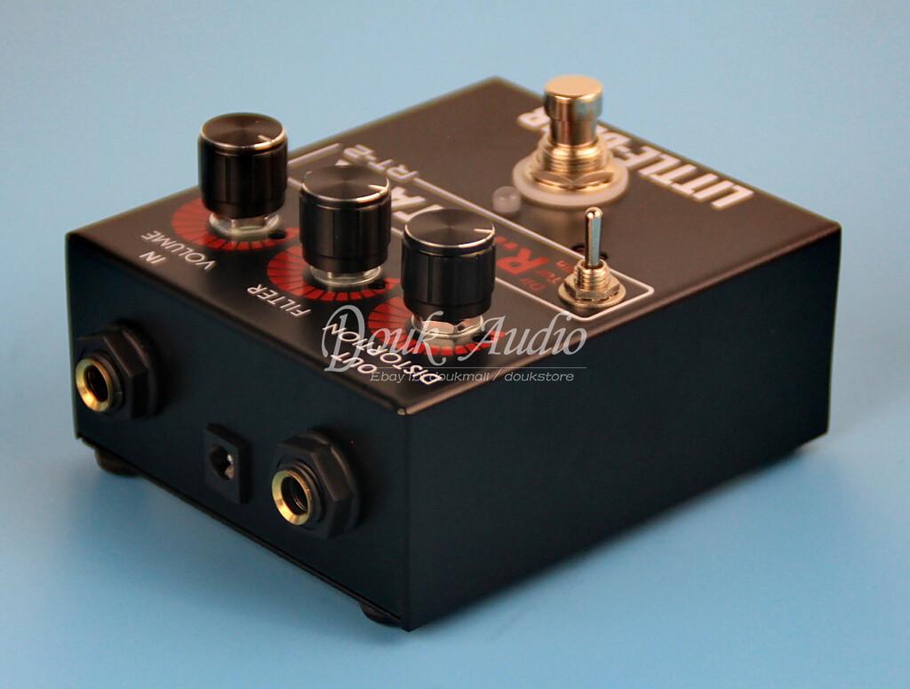 little bear 3 rat guitar bass distortion effector effect stomp box pedal lm308an 978078956973 ebay. Black Bedroom Furniture Sets. Home Design Ideas