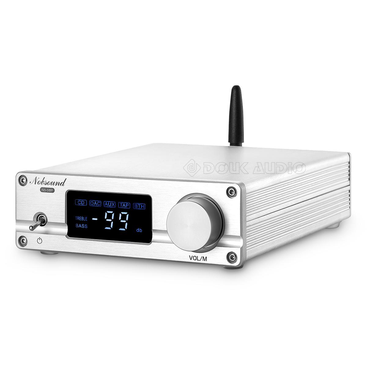 con remote control Ricevitore audio Bluetooth 4.2 preamplificatore Hi-Fi Nobsound PGA2310