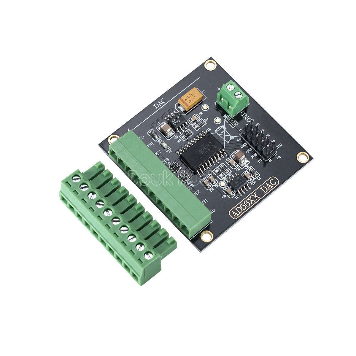 8 Channel Serial Dac Module Tlv5608 Digital To Analog Converter 10 This Digitaltoanalog Integrated Circuit Is Designed 12 Bit