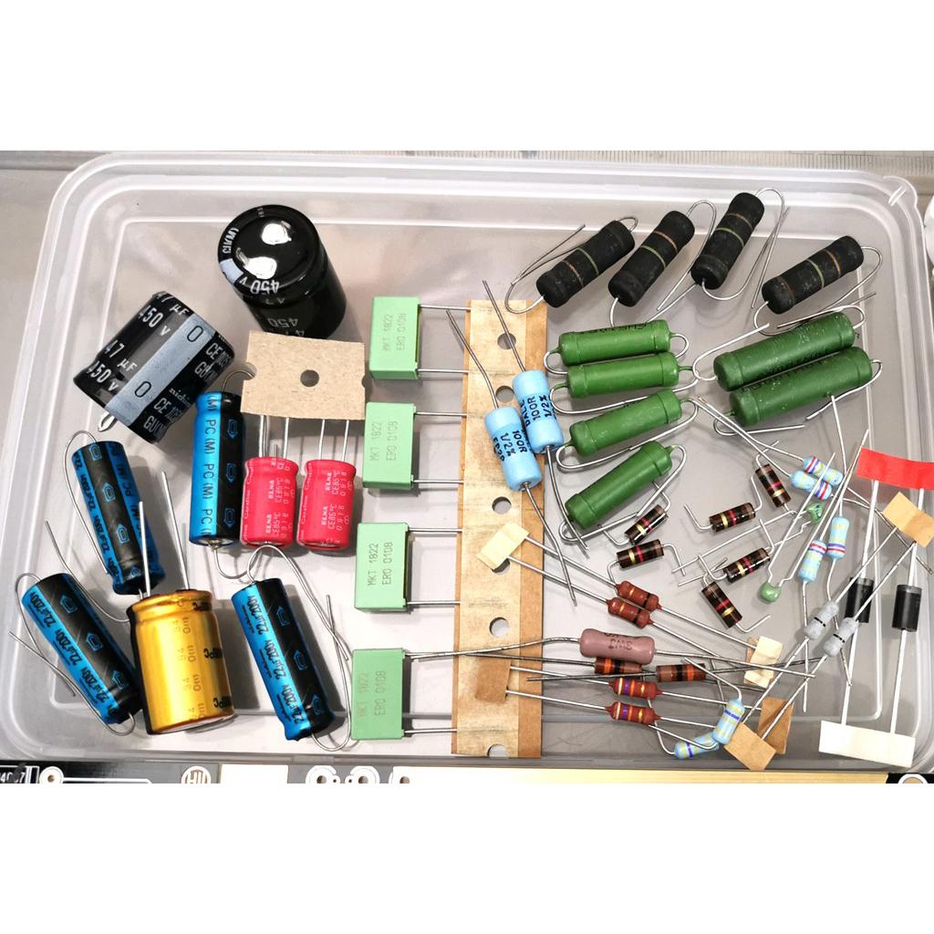 HiFi Vacuum Tube Amplifier Kit DIY 10W Stereo Audio Amp ...