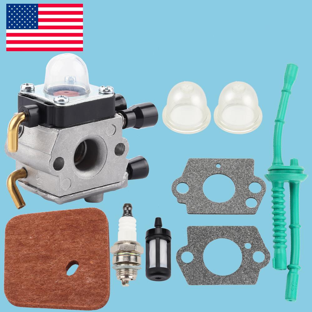 *Carburetor For STIHL FS38 FS45 FS46 FS55 KM55 FS85 Air Fuel Filter Gasket Carb*