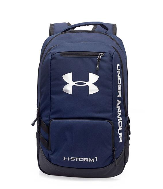 617d35567291 Under Armour UA Storm Hustle 2 Storm1 Backpack Water-Resist Laptop Camping  Bag