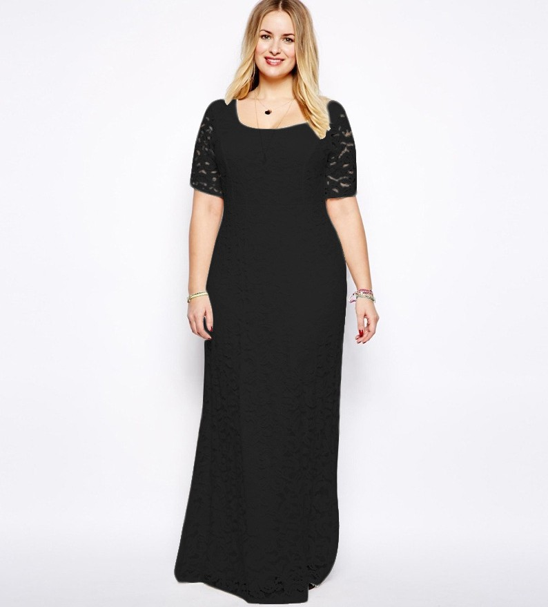 Sexy Plus Size Women Girl Evening Party Prom Gown Xl To 9xl Cocktail