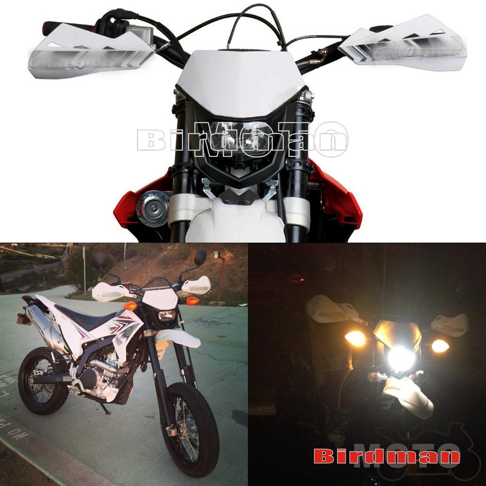 Motocycle Dirtbike Headlight Enduro Road Legal Street Fighter For Suzuki Dirt Bikes Yamaha